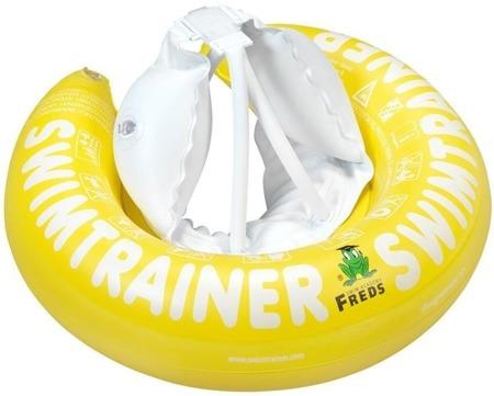 Freds Swim Academy Koło do nauki pływania Swimtrainer 4-8 lat żółte