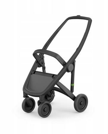 Greentom Classic Wózek spacerowy EKO czarno-miętowy