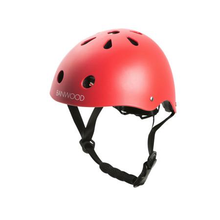 Banwood kask dziecięcy rowerowy red