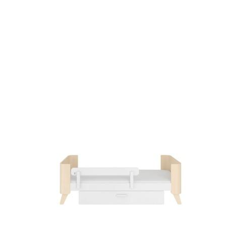 Bellamy Uniwersalna barierka ochronna do łóżeczka biała