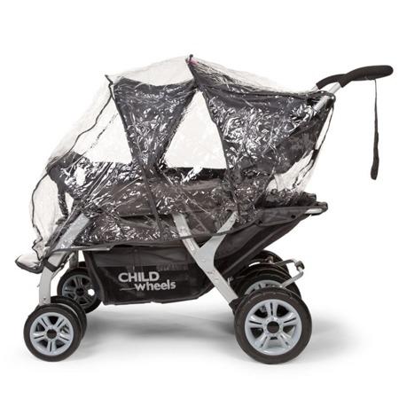 Childhome Quadruple wózek dla żłobków oraz dla rodzin  4-osobowy