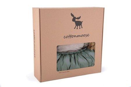 Cottonmoose Śpiwór do wózka Combi 3w1 szary