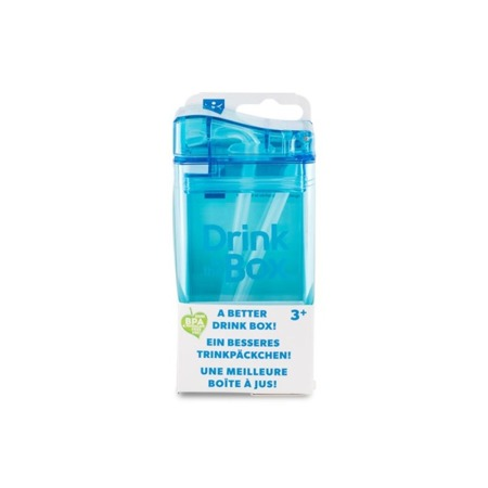 Drink In The Box Bidon ze słomką 240 ml blue