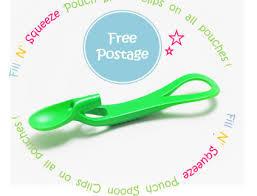 Fill'n Squeeze łyżeczka do karmienia dzieci zielona