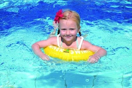 Freds Swim Academy Koło do nauki pływania Swimtrainer 2 - 6 lat pomarańczowe