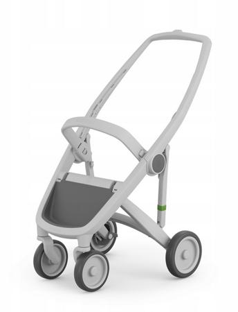 Greentom Classic Wózek spacerowy EKO czarno-różowy