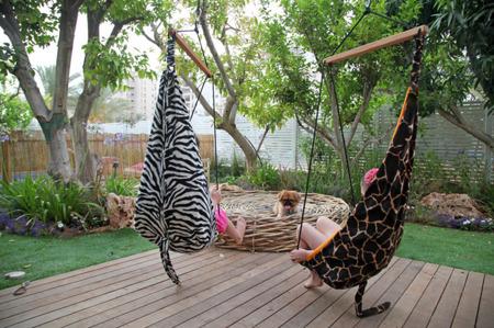 Huśtawka Hang Mini Żyrafa, Amazonas