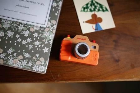 Janod Drewniany aparat fotograficzny z dźwiękami