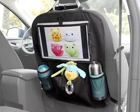 KioKids Organizer do samochodu z miejscem na tablet