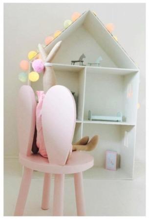 Krzesło dziecięce króliczek