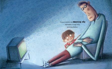 """Książeczka dla dzieci """"Mus jabłkowy"""",  Wyd. Dwie Siostry"""