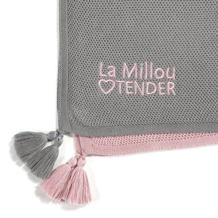 La Millou Lekki kocyk bambusowy otulacz Honey Marshmallow