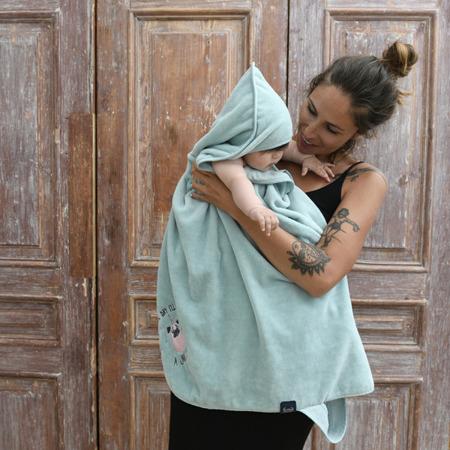 La Millou Ręcznik Bamboo Soft Newborn I love Panda mnt