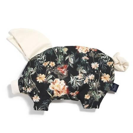 La Millou Velvet Collection Poduszka świnka Blooming Boutique Noir rafaello