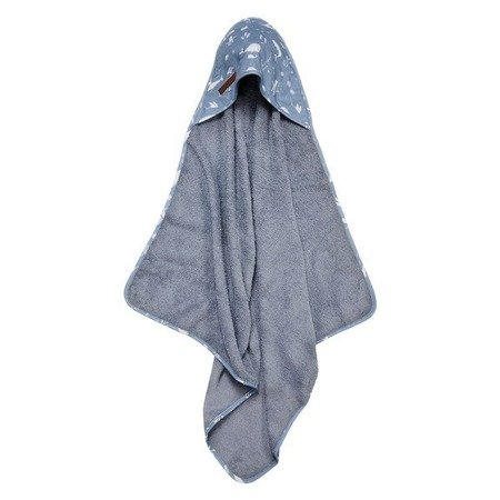 Little Dutch Bawełniany ręcznik Ocean Blue