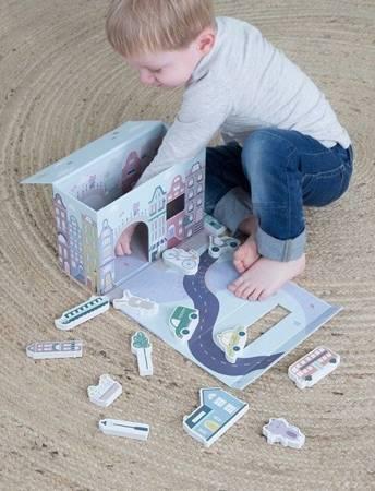 Little Dutch Zabawka drewniana Miasto w walizce