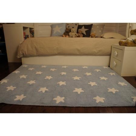 Lorena Canals Blue Stars White 120x160cm