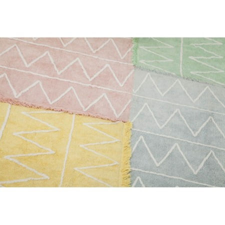 Lorena Canals Hippy Soft Pink 120x160cm