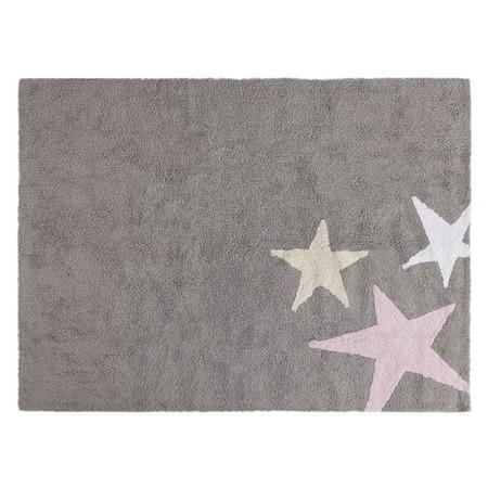 Lorena Canals Tres Estrellas Pink 120x160cm