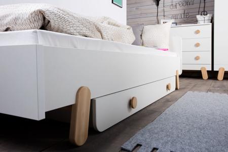 Łóżko młodzieżowe 200x90 Pinio Iga