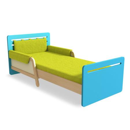 Łóżko rozsuwane zielone Timoore Simple