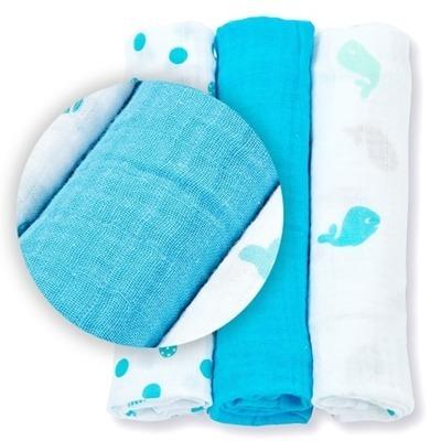 Lulujo, mini pieluszki brilliant blues niebieskie