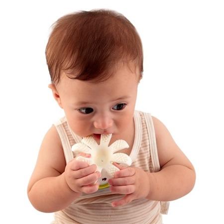 Mombella, Gryzak - zabawka Ośmiorniczka fioletowy