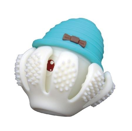Mombella, Gryzak - zabawka Ośmiorniczka niebieski