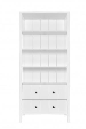 Novelies Allpin, Regał z dwoma szufladami biały