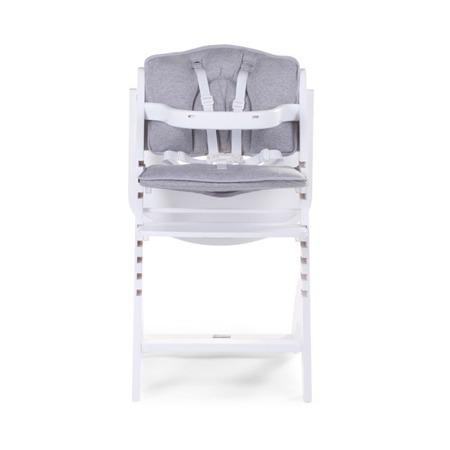 Ochraniacz poduszka do krzesełka Lambda 2 jersey SZARA otwory na pasy Childhome