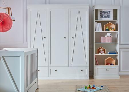 Pinio Marie Szafa 3 drzwiowa biała