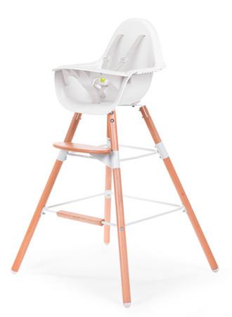 Podwyższenie krzesełka + podnóżek do Evolu 2 biały, Childhome