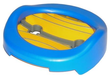 Potette Plus 2w1 nocnik turystyczny-nakładka na WC + 3 wkłady, niebieski