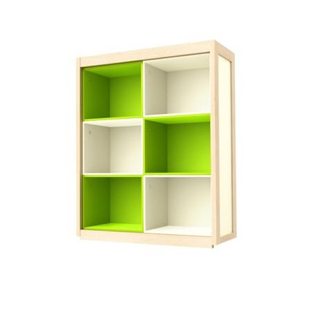 Regał-nadstawka na kredens zielona Timoore Simple