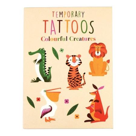 Rex London Zmywalne tatuaże dla dzieci zwierzaki