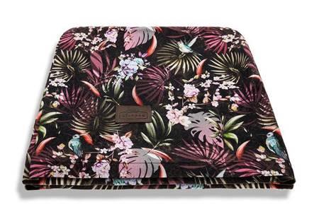 Sleepee Bambusowy Jungle Multicolor - 3 w 1 chusta, otulacz i kocyk