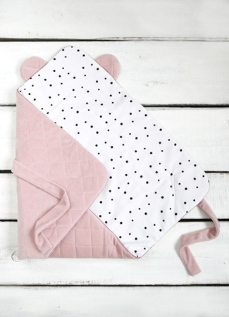 Sleepee Rożek niemowlęcy Royal Baby różowy
