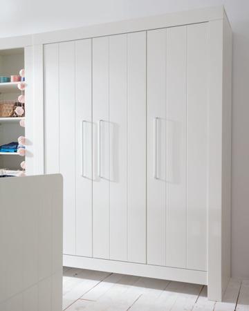 Szafa 3-drzwiowa Biała Pinio Calmo