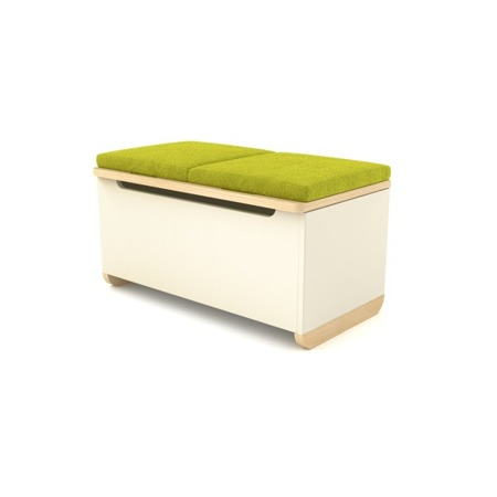 Tapicerka do Toy Box niebieska Timoore Simple