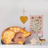 Lampka drewniana z funkcją ściemniania Little Lights Sarna Polski HandMade